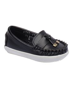 $6.79 This Black Beccy Tassel Loafer is perfect! #zulilyfinds