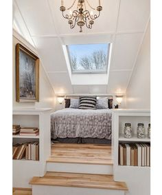 Attic Design Inspiration from Pinterest. - Dujour