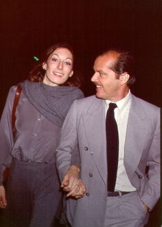 Sometimes they would hold hands and it was heartwarming. | Jack Nicholson and Anjelica Huston Were The Coolest Couple Of The '70s And '80s