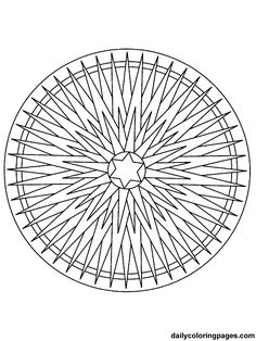 Difficult Mandala Coloring Pages | mandala christmas ornaments coloring pages 020