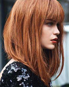 Włosy do ramion ( fryzury półdługie 2017 ) – Modne fryzury w 2017 dla każdego