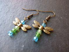Dragonfly earrings £4.50