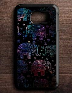 Elephant Aztec Mandala Galaxy Samsung Galaxy S6 Edge Case