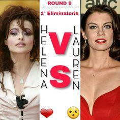 ROUND 9 ⚡ 1° Eliminatoria ⚡  #Helena o #Lauren? ⚡  A voi la scelta ⚡  ⚡Hermione⚡