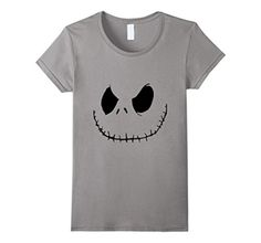 Women's Skellington Halloween Shirt XL Slate - Brought to you by Avarsha.com