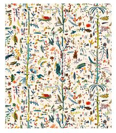 'Forest' fabric by Rose de Borman for Virginia White http://virginiawhite.co.uk/?post_type=fabric