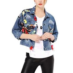 3831426bdb0 Women Basic Slim Coats Autumn And Winter Denim Jacket Vintage Long Sleeve  Loose Female Jeans Casual Girls Outwear with Tassel