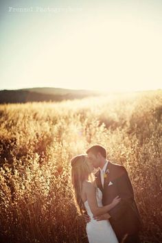 I love a good field. Country wedding
