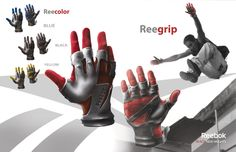 REEBOK: Parkour Glove by Frantz Mondesir, via Behance