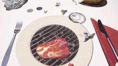 Restaurante na Bélgica leva mini chef para a mesa!