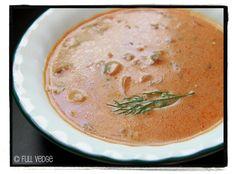 Soupe aux champignons à la hongroise   Full vedge - Recettes végétariennes et gourmandes!