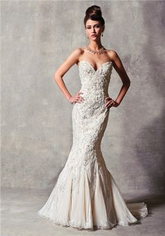 Stephen Yearick Wedding Dresses @ Catan Fashions in Strongsville OH   www.catanfashions.com   Find the dress of your dreams at the largest bridal store in America !