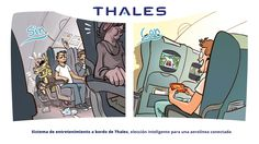 Sistema de entretenimiento a bordo de Thales, elección inteligente para una aerolínea conectada.