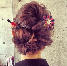 Without the accessories Geisha, Up Hairstyles, Pretty Hairstyles, Wedding Hairstyles, Bridal Hairstyle, New Hair Do, Love Hair, Rockabilly Hair, Hairdo Wedding