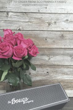The Bouqs flowers are all cut when your order and always with free shipping.