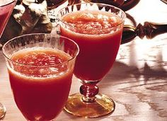Cranberry-Orange Slush Cocktails. You can do Cran Vodka in place of brandy as well