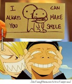 Hahaha!! Zoro and Sanji! Their hate-hate relationship makes for great laughs!