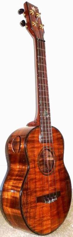 Bob Gleeson, Pegasus Guitars Tenor #LardysUkuleleOfTheDay ~ https://www.pinterest.com/lardyfatboy/lardys-ukulele-of-the-day/ ~