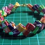 Super-Sweet Kid Craft: Starburst Candy Wrapper Bracelets | Make: DIY Projects, How-Tos, Electronics, Crafts and Ideas for Makers | MAKE: Craft