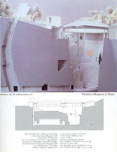 Hans Hollein   Museo  en Mönchsberg   Salzburgo; Austria   1989