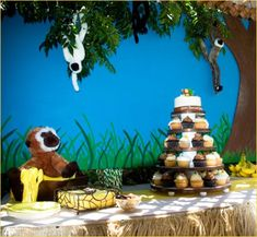 <3 this- our 2nd birthday party theme. except my cupcakes with have opposite frosting. :-)
