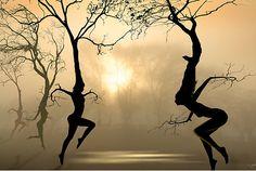 Beautiful Surrealism, Silhouettes Digital Art by IGOR ZENIN