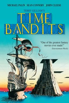 Time Bandits Poster Artwork - John Cleese, Michael Palin, Sean Connery - http://www.movie-poster-artwork-finder.com/time-bandits-poster-artwork-john-cleese-michael-palin-sean-connery-2/