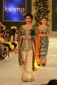 Day Bridal dresses by the designer Karma Red at PFDC L'Oréal Paris Bridal Week Pakistani Formal Dresses, Pakistani Outfits, Indian Outfits, Karma, Beautiful Dresses, Nice Dresses, Pakistan Bridal, Wedding Gowns Online, Wedding Dresses