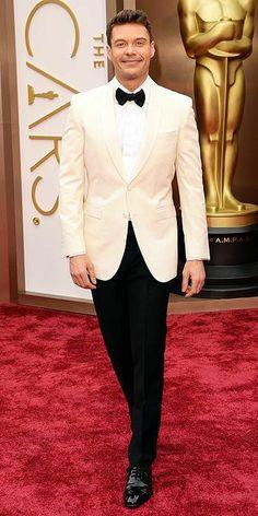 Ryan Seacrest at 2014 Oscars