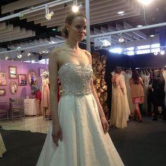 Love Kenzie at #kellyfaetanini #bridalmarket
