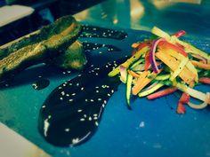 Food, Halfway House, Shipley, West Yorkshire, Restaurant, Belly Pork, Julienne Salad