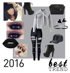 """""""Black Beauty"""" by sara-horton-1 on Polyvore featuring WithChic, MICHAEL Michael Kors and Giani Bernini"""