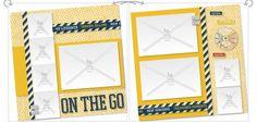 layout by Lynn Como using CTMH Tommy paper in Studio J Digital