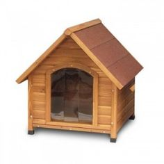 This range of 'classic' styled wooden dog kennels will keep dogs of all sizes warm and dry, yet still look great in the garden.