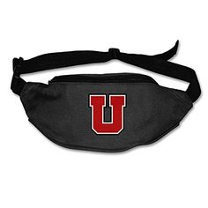 University Of Utah Black Women Belt Bag For Running And Cycling -- Click image to review more details.(This is an Amazon affiliate link and I receive a commission for the sales)