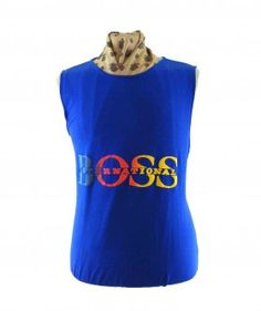 "Boss International Vest #vintagefashion #vintage #retro #vintageclothing #90s #1990s #vintagetshirts <link rel=""canonical"" href=""http://www.blue17.co.uk/>"