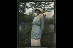 Thomas Shields Clarke, Fernbrook, ca. 1910, Photographic autochrome, Pennsylvania Academy of the Fine Arts, Archives, Photo by Barbara Katus / Brian van Camerik