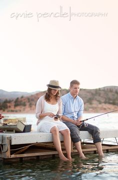 Amie Pendle Photography » blog southern Utah Photographer Engagement fishing Lake lantern Canoe