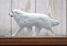 Great Pyrenees (Dog in Gait) Topper. In Home Wall or Shelf Products & Gifts.