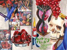 Audrey Flack by ~ambrabealey on deviantART