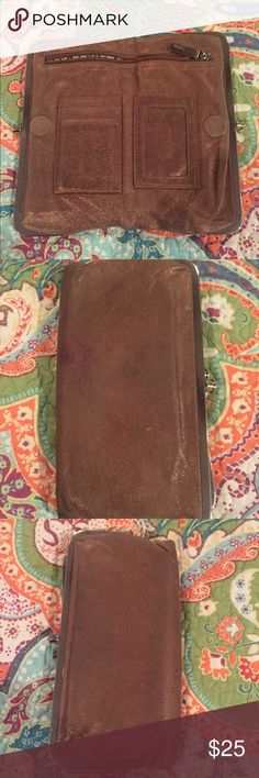 HOBO Wallet. Soft leather. Hobo wallet. Soft leather like material. Strong magnet closure. Loved lots. HOBO Bags Wallets