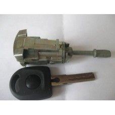 Личинка (сердцевина, вкладыш) замка передней двери Skoda / VW / Seat / Audi  1996 - 2010 г.в