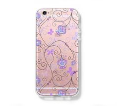 Floral Print Tribal iPhone 6s 6 Clear Case iPhone 6 plus Cover iPhone – Acyc