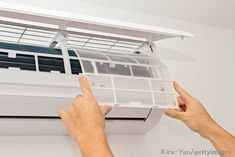 6 Air Conditioner Maintenance Tasks That Aren't Up for Negotiation The hot weather is here! Air conditioning is a must! Maintenance is key.read this and hopefully stay cool this summer! Split Ac, Air Conditioning Units, Klimt, Air Conditioners, Air Filter, Ac System, Real Estate, Duct Cleaning, Cleaning Hacks
