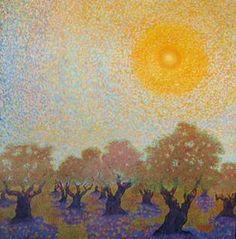 HM Saffer paintings #tree #art