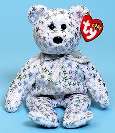 The Beginning - Ty Beanie Babies bear Beanie Babies Value, Beanie Baby Bears, Ty Beanie Boos, Ty Bears, Charlie Bears, Ty Stuffed Animals, Plush Animals, Ty Plush, Ty Babies