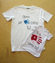 retirado da net My Father, Fathers Day, T Shirt, Clothes, Activities For Kids, Kids Activity Ideas, Grandparents Day, Family Day, Mother And Father