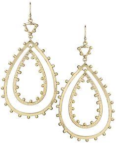 Rumer Statement Earrings in Gold - Kendra Scott Jewelry