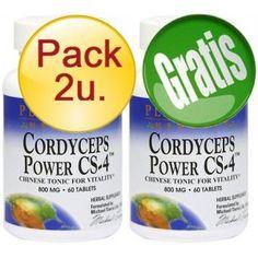 PACK 2U+1 CORDYCEPS CS4 60 TABLETAS 800 MG