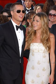Brad Pitt & first wife, Jennifer Aniston (2000-2005)